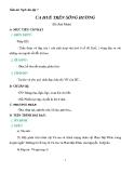 Giáo án Ngữ văn 7 bài 28: Ca Huế trên sông Hương