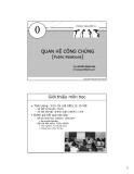 Quan hệ công chúng - TS Nguyễn Hoàng Sinh