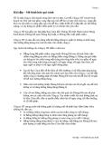 Bài tập Mô hình hóa quy trình  - Công ty HT