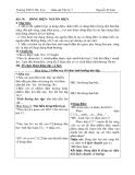 Giáo án Dòng điện nguồn điện - Môn Vật lý lớp 7
