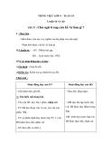 Giáo án bài Chủ ngữ trong câu kể Ai làm gì - Tiếng việt 4 - GV.N.Phương Quyên