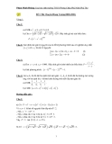 Tuyển tập  đề thi vào lớp 10 chuuyên toán có đáp án