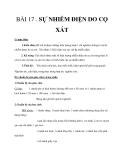 Giáo án Sự nhiễm điện do cọ sát - Bài 17 Lý 7 - GV.T.V.Lưu