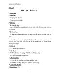 Giáo án Ngữ văn 7 bài 32: Ôn tập Tiếng Việt