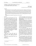 Báo cáo: Nghiên cứu khả năng hấp thụ ion Cu 2+, Ni 2+ của than bùn Việt Yên - Bắc Giang