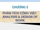 Bài giảng Quản trị nhân lực - Chương 3 Phân tích công việc