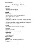 Giáo án Ngữ văn 7 bài 31: Ôn tập Tập làm văn
