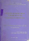 Luận văn: Các giải pháp thúc đẩy phát triển thị trường khoa học công nghệ ở thành phố Hồ Chí Minh đến năm 2010