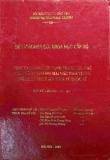 Đề tài nghiên cứu khoa học: Nâng cao năng lực cạnh tranh của các ngân hàng thương mại Việt Nam trong điều kiện hội nhập kinh tế quốc tế