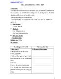 Giáo án Ngữ văn 7: Trả bài kiểm tra tổng hợp