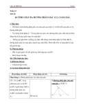 Tính chất ba đường phân giác của tam giác - Giáo án Hình học 7
