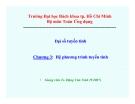 Bài giảng Đại số tuyến tính (ĐH Bách khoa Tp.HCM) - Chương 3 Hệ phương trình tuyến tính