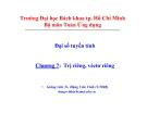 Bài giảng Đại số tuyến tính (ĐH Bách khoa Tp.HCM) - Chương 7 Trị riêng, véctơ riêng