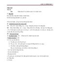 Giáo án Hình học 7 chương 3 bài 5: Tính chất tia phân giác của một góc