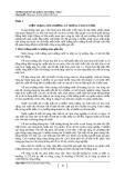 Chuyên đề: Tổng quan về môi trường Việt Nam - Nguyễn Ngọc Nông