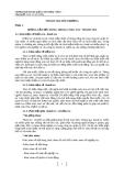 Chuyên đề: Thanh tra môi trường