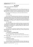 Chuyên đề:  Bản đồ học  - Vũ Thủy