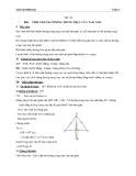 Giáo án Hình học 7 chương 3 bài 8: Tính chất ba đường trung trực của tam giác