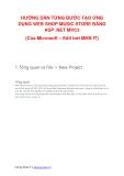 Hướng dẫn từng bước tạo ứng dụng web shop music store bằng ASP . NET MVC3