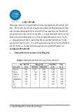 Tiểu luận: Quá trình làm ngọt khí sử dụng MEA