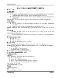 Giáo án Hóa học 9 bài 40: Dầu mỏ và khí thiên nhiên
