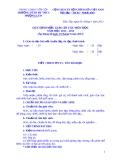 Quy định mẫu giáo án các môn học áp dụng năm học 2012 - 2013