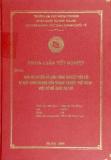 Luận văn: Bảo hộ quyền sở hữu công nghiệp dưới góc độ thương mại đối với chỉ dẫn địa lý của Việt Nam trong điều kiện hội nhập kinh tế quốc tế