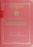 Luận văn: Hệ thống phân phối hàng hoá Việt Nam thời kỳ hậu WTO; thực trạng giải pháp