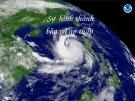 Báo cáo: Sự hình thành bão và áp thấp
