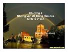 Bài giảng Kinh tế học: Chương II - Nguyễn Việt Hưng