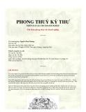 Phong thuỷ kỳ thư: Giải đoán phong thủy cho doanh nghiệp