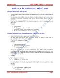 Ngữ pháp TOEFL + LTĐH 2014