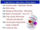 Bài giảng Vật lý đại cương  - Chương 1: Trường tĩnh điện