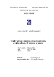 Luận văn tốt nghiệp: Thiết kế quy trình công nghệ sửa chữa động cơ Diesel 6L160PN