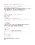Ngữ pháp tiếng Hàn - Bài 3 Hai đuôi câu cơ bản trong tiếng Hàn