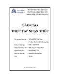 Báo cáo thực tập nhận thức: Ngân hàng Nông nghiệp và phát triển nông thôn Việt Nam - Chi nhánh Mạc Thị Bưởi phòng giao dịch Hoàng Diệu