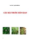 Các bài thuốc dân gian - Nguyễn Khắc Bảo