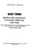 Giáo trình Đường lối cách mạng Đảng Cộng sản Việt Nam - PGS.TS. Nguyễn Viết Thông (Tổng chủ biên)
