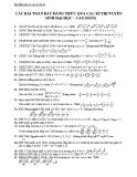 Các bài toán bất đẳng thức qua các kì thi tuyển sinh Đại học – Cao đẳng