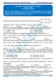Luyện thi ĐH KIT 1 (Đặng Việt Hùng) - Bài tập tự luyện Vật lý: Tổng hợp dao động điều hòa (P2)