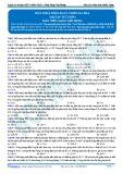 Luyện thi ĐH KIT 1 (Đặng Việt Hùng) - Máy phát điện xoay chiều ba pha (Bài tập tự luyện)