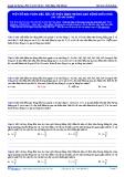 Luyện thi ĐH môn Lý: Bài toán về thời gian