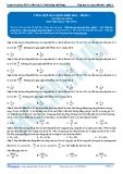 Luyện thi ĐH KIT 1 (Đặng Việt Hùng) - Tài liệu bài giảng Môn Vật lý: Tổng hợp dao động điều hòa (P3)