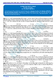 Luyện thi ĐH KIT 1 (Đặng Việt Hùng) - Bài tập tự luyện Vật lý: Luyện tập về va chạm