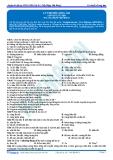 Luyện thi ĐH KIT 1 (Đặng Việt Hùng) - Lý thuyết về sóng âm (Bài tập tự luyện)