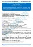 Luyện thi ĐH KIT 1 (Đặng Việt Hùng) - Mạch điện xoay chiều chỉ có một phần tử (Bài tập tự luyện)