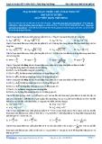 Luyện thi ĐH KIT 1 (Đặng Việt Hùng) - Mạch điện xoay chiều chỉ có hai phần tử (Bài tập tự luyện)