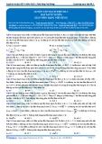 Luyện thi ĐH KIT 1 (Đặng Việt Hùng) - Luyện tập mạch điện RLC (Bài tập tự luyện)