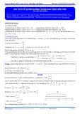 Luyện thi ĐH Môn Lý: Bài giảng bài toán về quãng đường trong dao động điều hòa