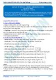 Luyện thi ĐH KIT 1 (Đặng Việt Hùng) - Bài tập tự luyện Vật lý: Mở đầu về sóng cơ, phương trình sóng cơ (P1)